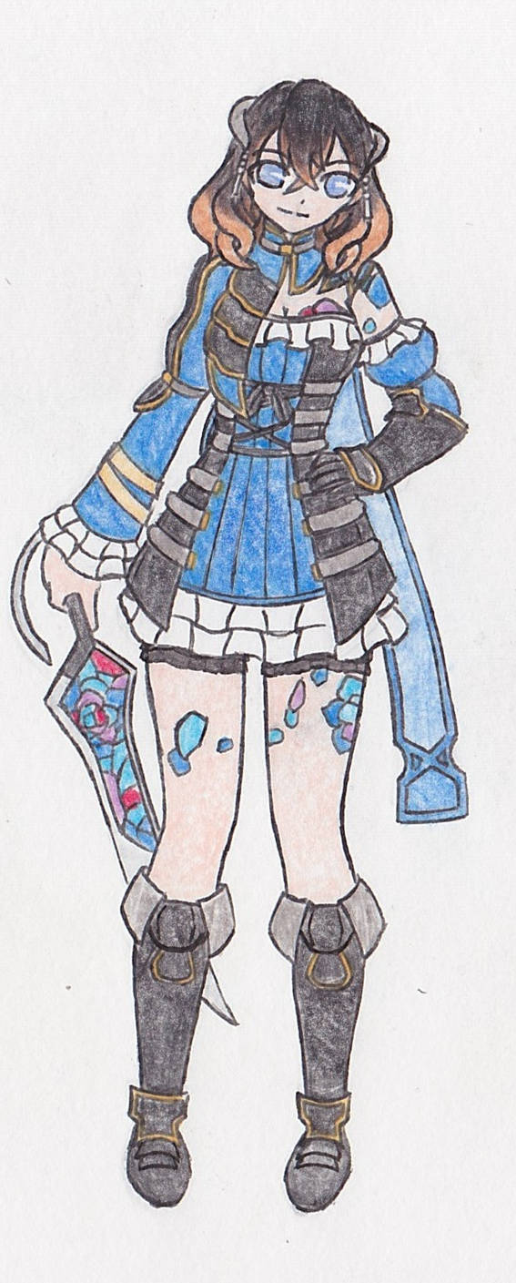 [Character Design] Miriam [Bloodstained RoTN]