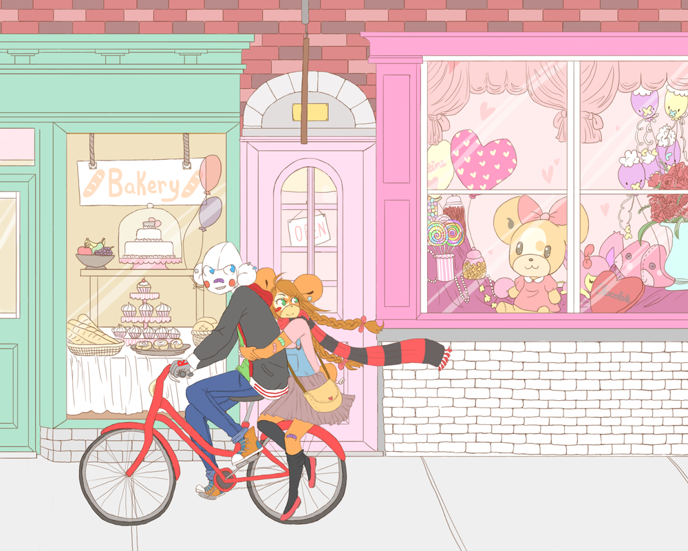 Valentines Shoplifting by LumaKuma