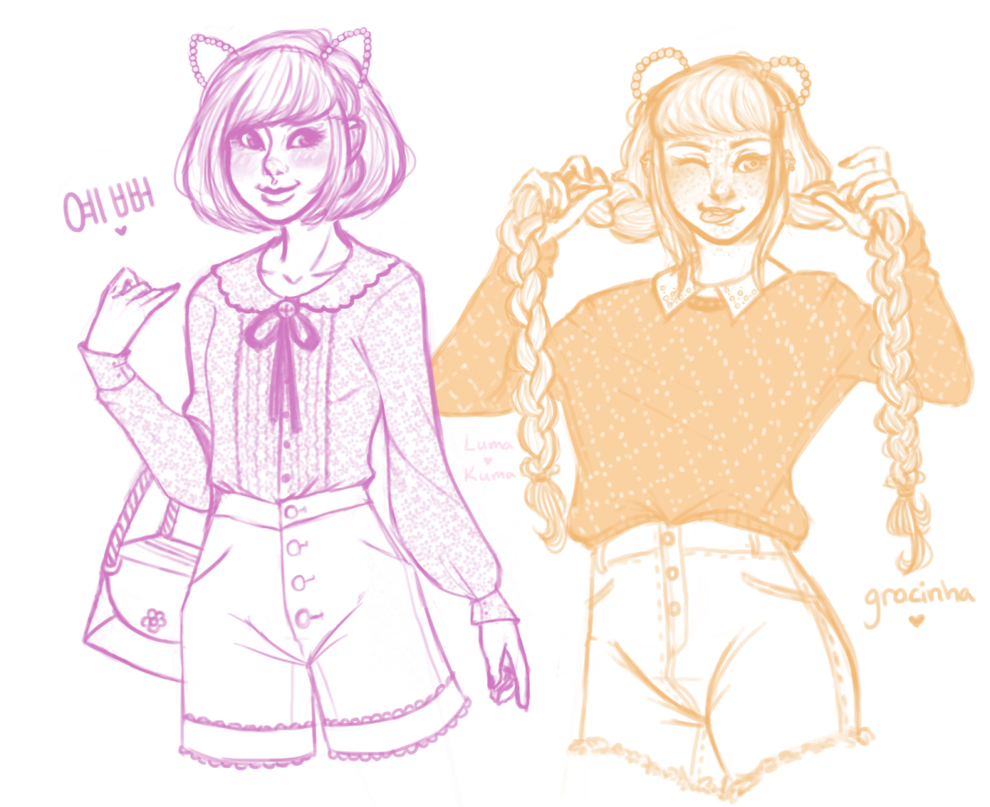 Sketchies by LumaKuma