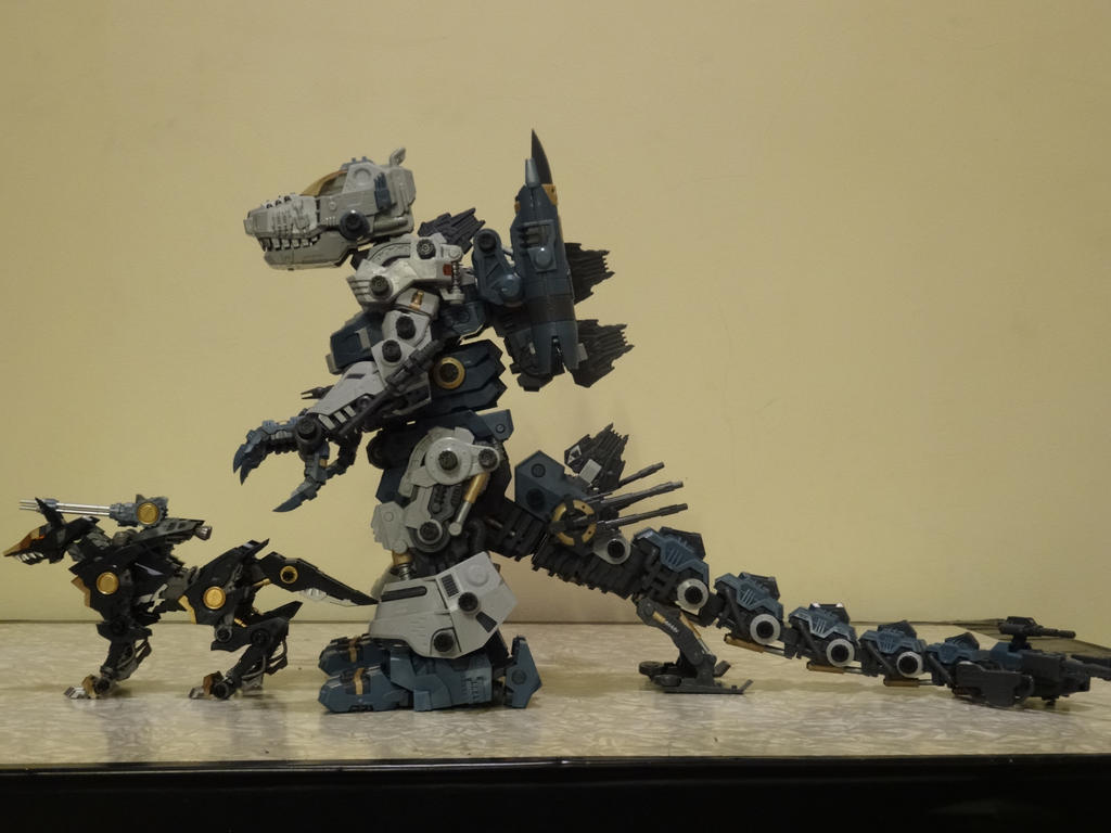The gallery for --> Zoids Shadow Fox Hmm