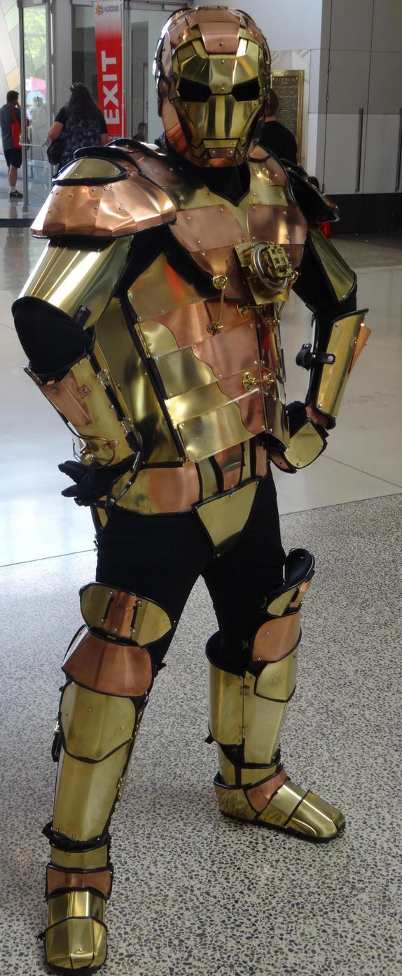 Steampunk Iron Man by lizardman22
