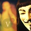 V for Vendetta Icon. Again. by I-Rant-Quite-Often