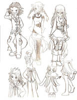 clothes designs by ChibiJade