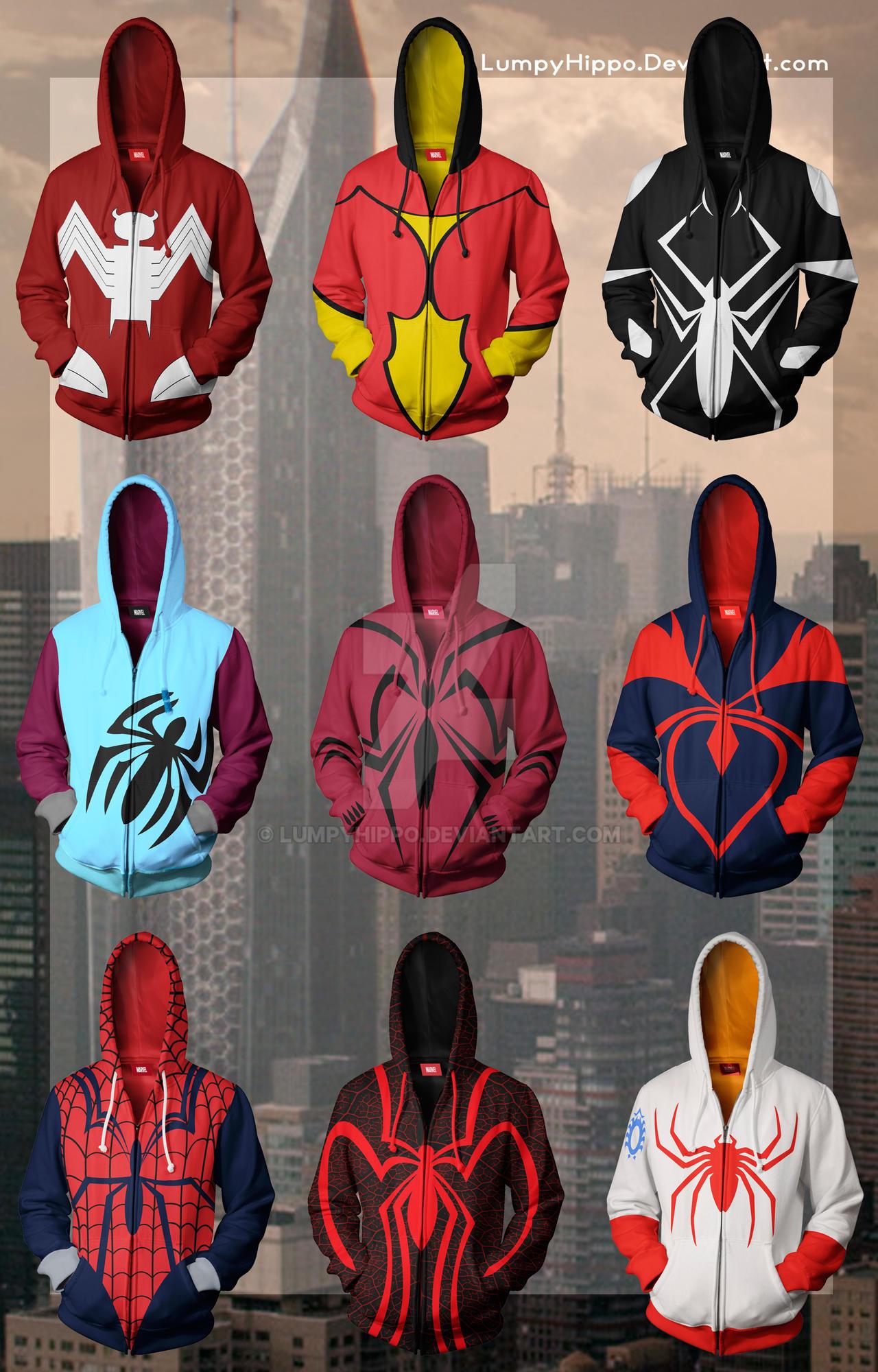Scarlet spider hoodie