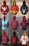 Spiderman Hoodies 3 (Spider-Woman Hoodies 1)