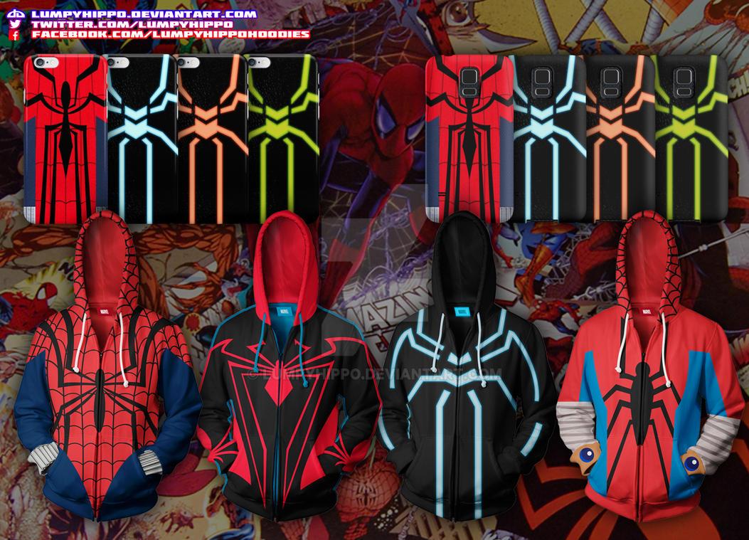 Spider-Man: Red And Bl... Mangaverse Spider Man Wallpaper