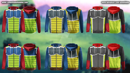 Dragon Ball Z Hoodies 2: Bardock by lumpyhippo