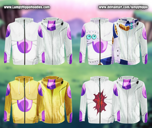 Dragon Ball Z Hoodies 7: Frieza by lumpyhippo
