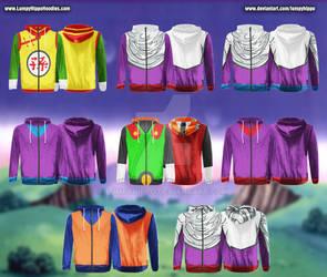Dragon Ball Z Hoodies 8: Gohan by lumpyhippo