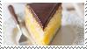 boston cream pie slice // stamp #3