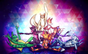 Everybody put ur hands up XD *Squad challange* by Jam-Graphics