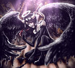 Inky angel by Jam-Graphics