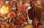 Scout`s holiday (Team Fortress) *Commission*