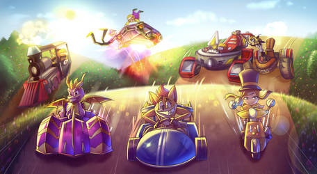 Mega Race *Commission*