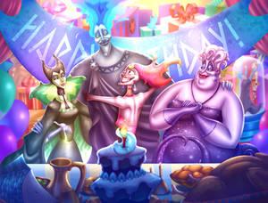 The Evil Trio: Surprise - Party *Commission*