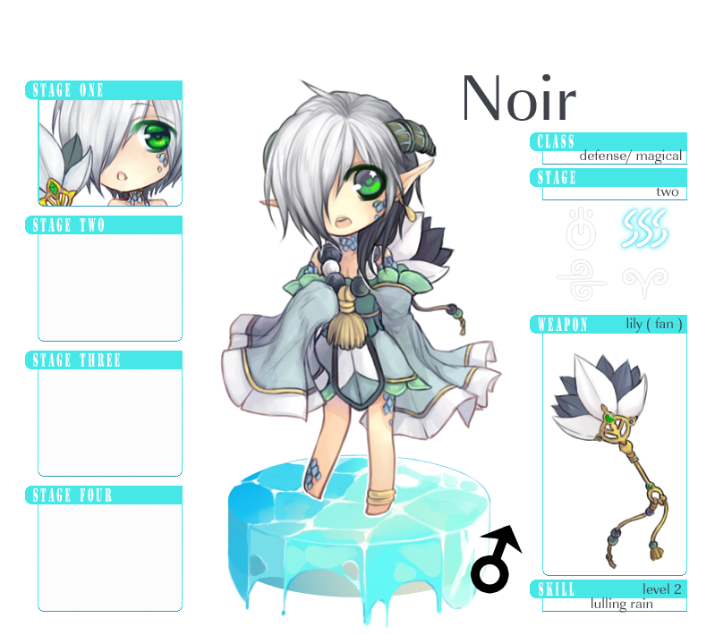 MS Stage 2 : Noir by akiicchi