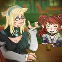 [FF14] A drink between friends