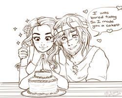 [SYMPH] I made u a cake girl