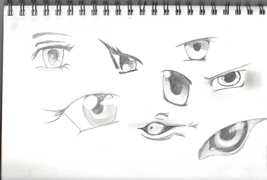 Anime Eyes by ~C-O-R-G-I on deviantART