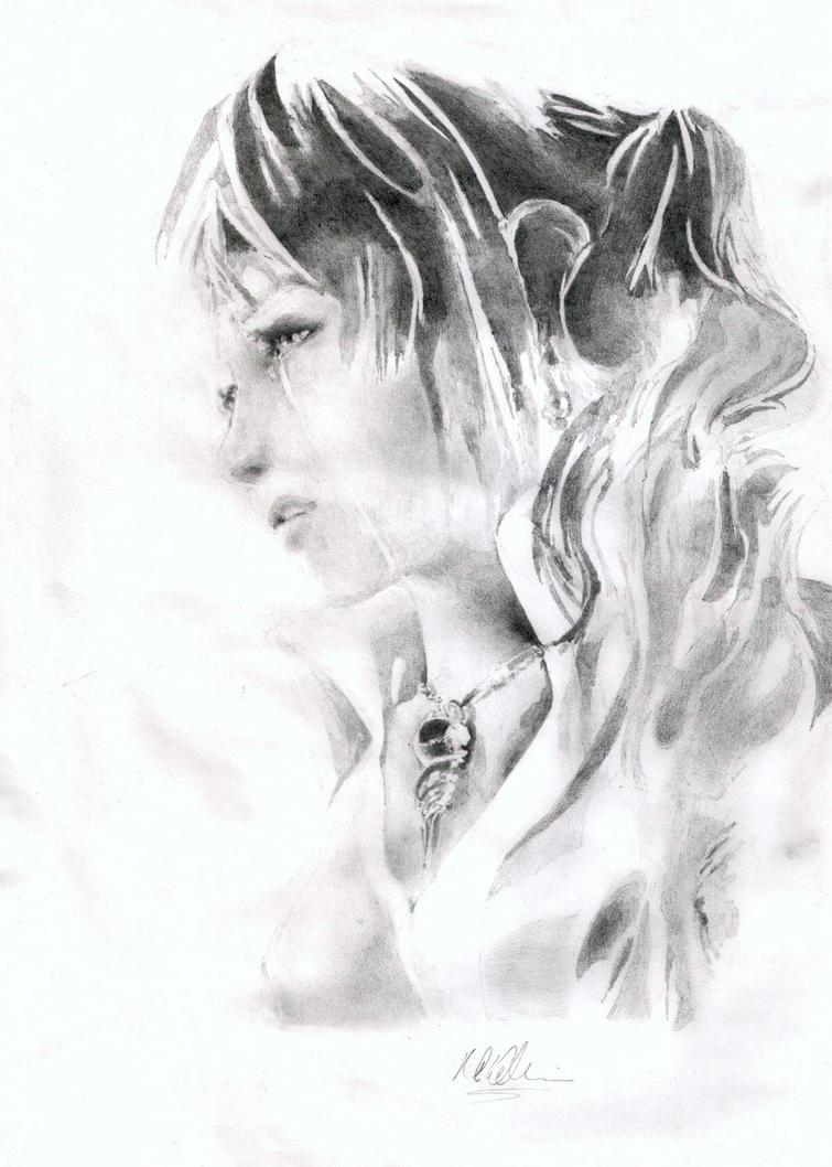 Serah Farron by baddassmatt