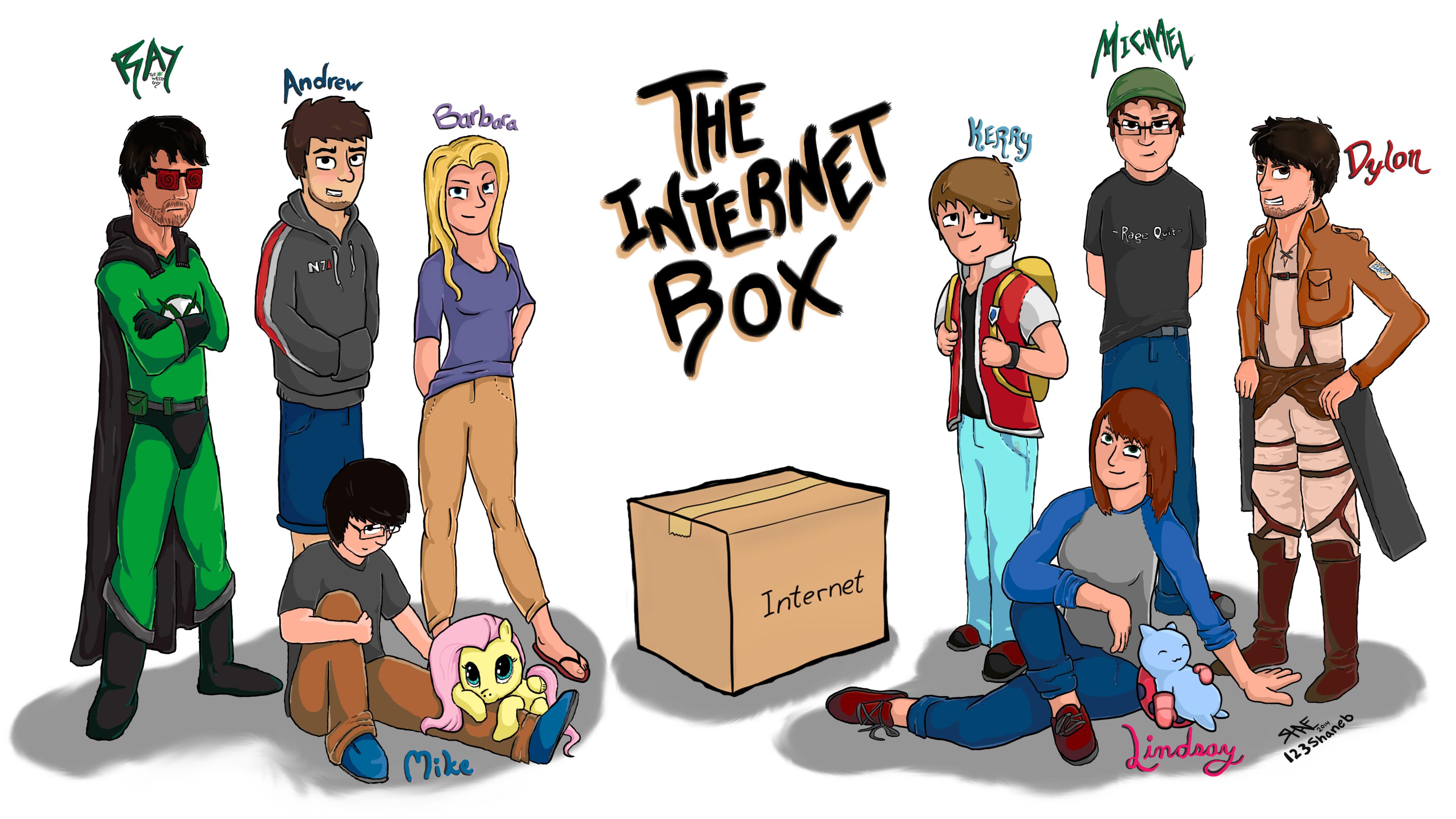 Internet Box by 123shaneb
