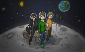 Team Lads - Galacticraft by 123shaneb