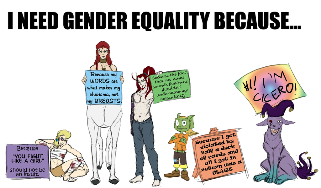 Gender Equality Painti...