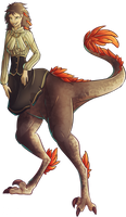 COM - Raptor Girl