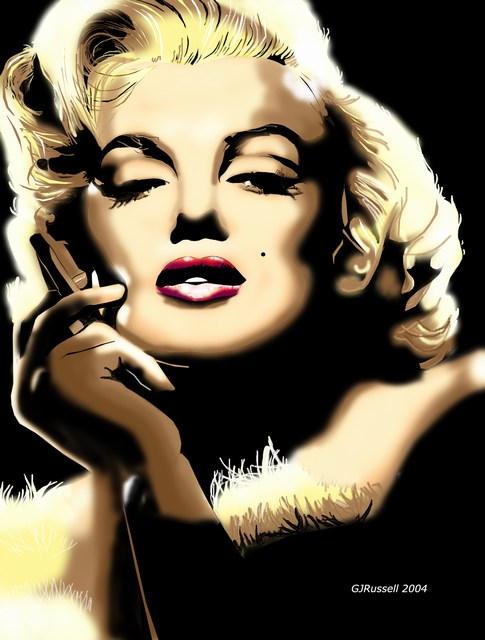 Marilyn Monroe 2 by gadget1998