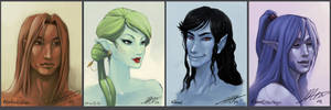 -Portraits of an MMO-