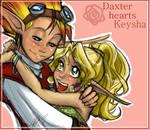 Keysha and Daxter - luff luff