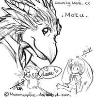 Mozu from Tengu by cheenot