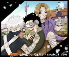NMP : Kakashis Team by cheenot