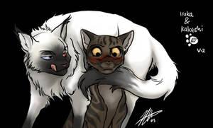 Naruto AU - cats1 by cheenot