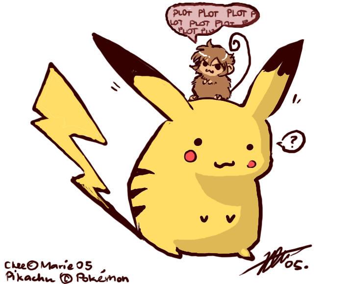 poor poor pikachu by kiwifluff