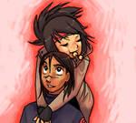 AnkoIru - huggles