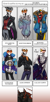So I also did the outfit meme...