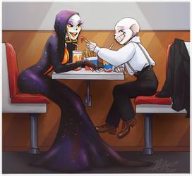 Fast food love.