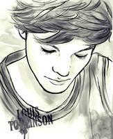 Louis Tomlinson by Doodle-Sprinkles