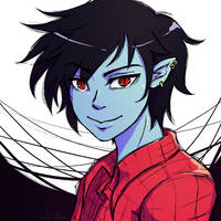Marshall Lee by Doodle-Sprinkles