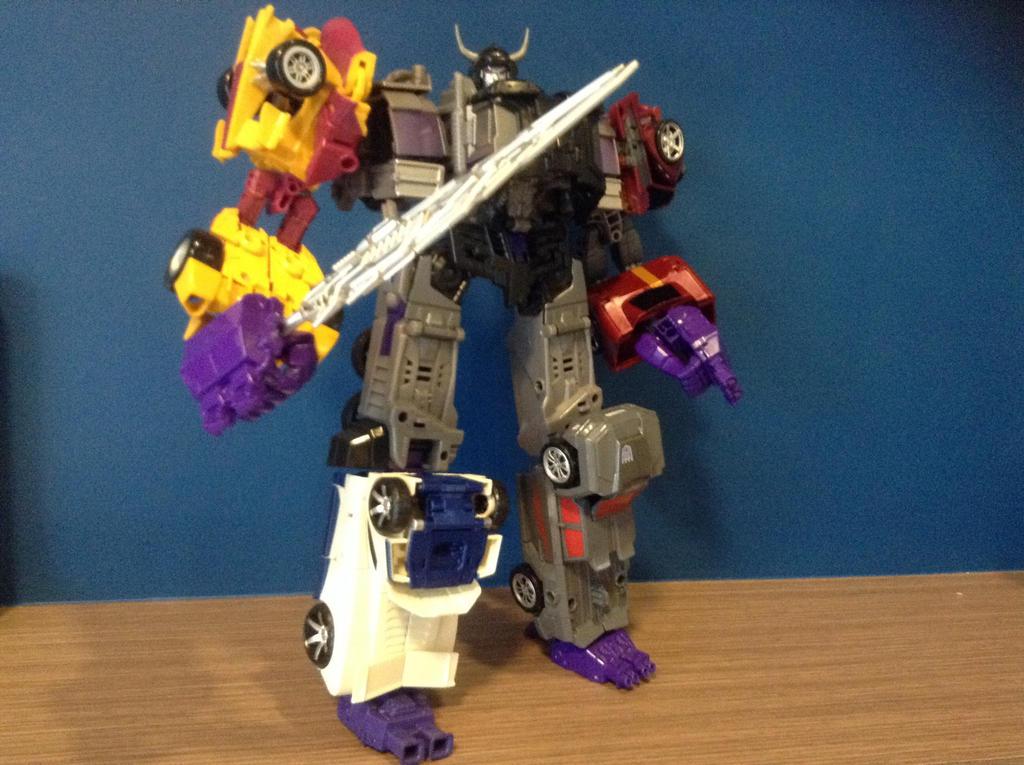 Transformers Devastation Menasor by warriorsofskaro1010