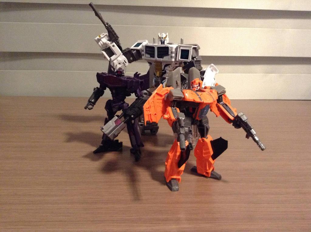 Dark Cybertron trio by warriorsofskaro1010