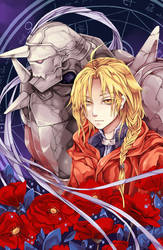 Fullmetal Alchemist: Edward and Alphonse Elric by Hodremlin