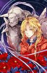 Fullmetal Alchemist: Edward and Alphonse Elric