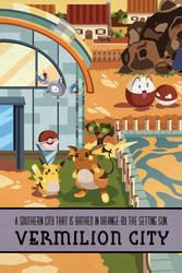 Pokemon Travel Poster - Vermilion City