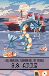Pokemon Travel Poster - S.S. Anne