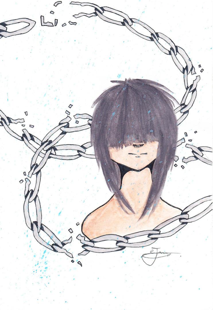 Broken Chain By Kleetjeejj