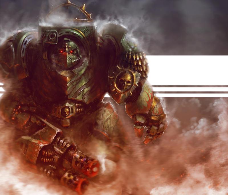 Painting Spacemarine Terminator Faces