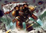 Warhammer 40k - Blood Angel Assault Marine