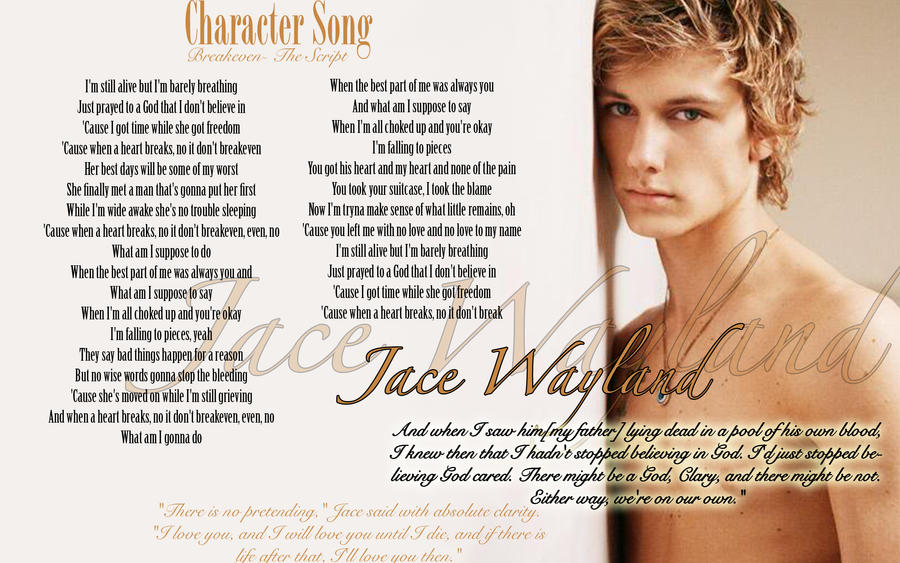 Jace Wayland- Character Song by Raine-Kisaragi